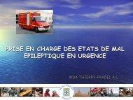 PRISE EN CHARGE DES ETATS DE MAL ... - SMUR BMPM