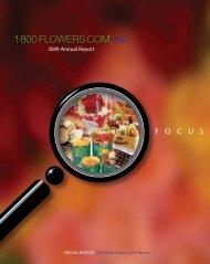 2009 Annual Report - [www.1800flowersinc.com]1-800-FLOWERS ...