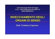 invecchiamento di organi ed apparati - Medicina e chirurgia ...