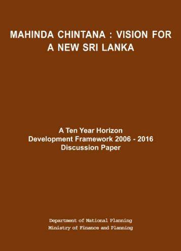 Ten-year Horizon Development Framework - Ministry of Finance and ...