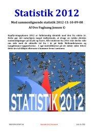 DDB STATISTIK 2012 - Version 8