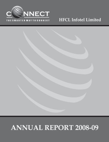 Annual Report 2008-09 - ConnectZone