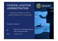 General Aviation in China - NBAA