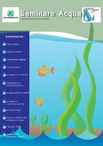Manuale Seminare l'acqua - Fondazione Idra