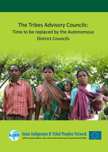 The Tribes Advisory Councils - Asian Indigenous and Tribal Peoples ...