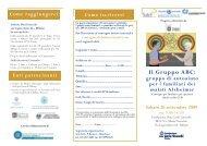 brochure ABC 26 settembre - Alzheimer Italia