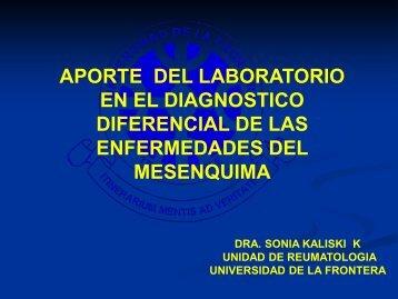 Aporte del Laboratorio en Diagnóstico de Mesenquimopatías