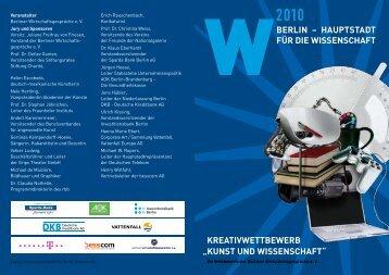 """kreativwettbewerb """"kunst und wissenschaft"""" - Berlin - Hauptstadt für ..."""