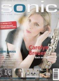 + ganzer Artikel (PDF) - Carolyn Breuer