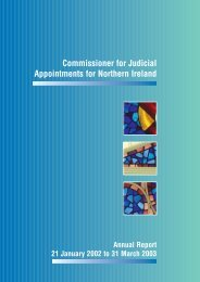 clicking here - Commissioner for Judicial Appointments for Northern ...