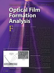 Optical Film Formation Analysis