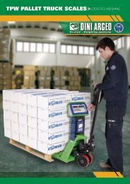 TPW PALLET TRUCK SCALES LOGISTICS WEIGHING