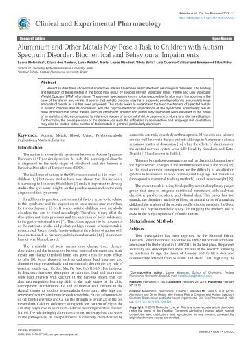 a study and recommendations on the autism spectrum disorder case of emiliano Autism spectrum disorders: guide to evidence-based interventions is the result of a public-private partnership between the thompson foundation for autism the division of developmental disabilities, missouri department of mental health the office of special.