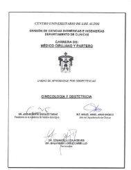Ginecología y Obstetricia - Centro Universitario de los Altos ...
