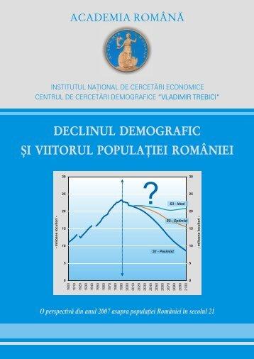 Declinul demografic si viitorul populatiei Romaniei - APAPR