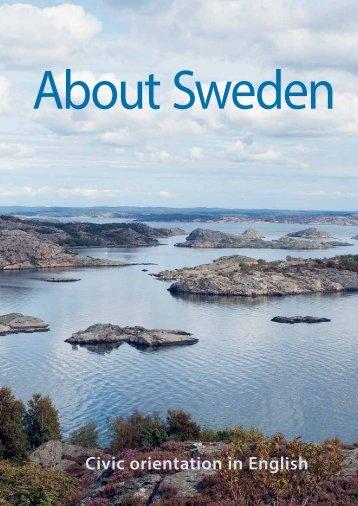 Civic orientation in English - Information om Sverige