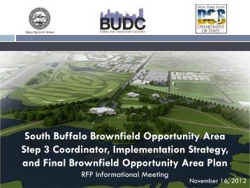 South Buffalo Brownfield Opportunity Area Step 3 ... - ECIDA