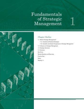 fundamentals of scientific management