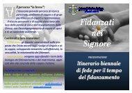 Biennio_Fidanzati_promo (Sola lettura) - Diocesi di Treviso