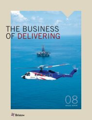 2008 Annual Report - Bristow