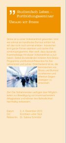 Studienfach Leben - Die Bildungsinitiative - Seite 6