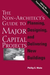 The Non-Architect's Guide to Major Capital Projects. Philip S. Waite