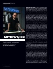 INKED australia/nz Column! Issue #10 - Kian Forreal
