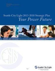 Seattle City Light 2013-2018 Strategic