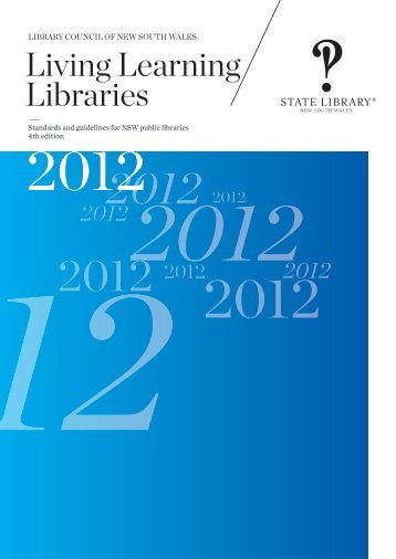 Living Learning Libraries - State Library of New South Wales