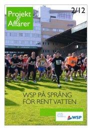 Projekt & Affärer nr 2 2012 - WSP Group