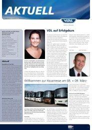 News und Infos aus dem Hause VDL 02/2013 - Omnibusvertrieb Ost