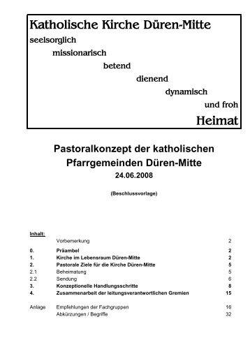 Pastoralkonzept von 2008 - St. Lukas