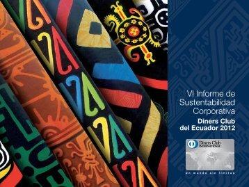 VI Informe de Sustentabilidad Corporativa - Diners Club del Ecuador