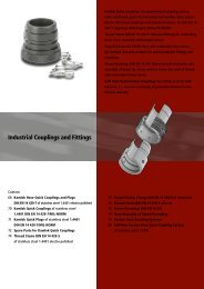 Industrial Couplings and Fittings