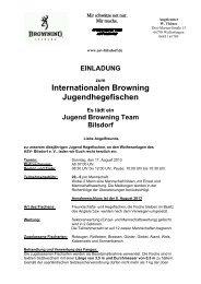 Browning Jugend Cup 2013 - ASV Bilsdorf 1961 e.V