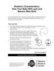 Newborn Characteristics: How Your Baby Will Look and Behave ...