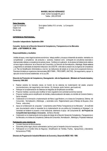 CV Maribel Macias.pdf - Unctad XI