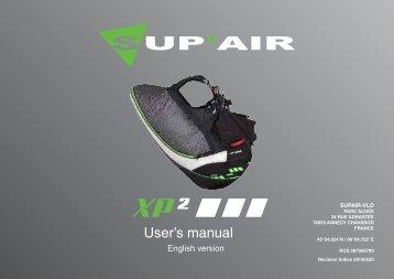 User's manual - Sup'Air