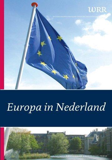 Europa in Nederland - Wetenschappelijke Raad voor het ...