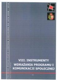 viii. instrumenty wdrażania programu i komunikacji ... - Chrzanów
