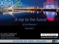 MAIN10. A Trip to the Future, Dr. Ian Pearson, Futurizon