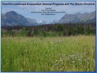 Post-Fire Landscape Assessment - Northern Rocky Mountain ...