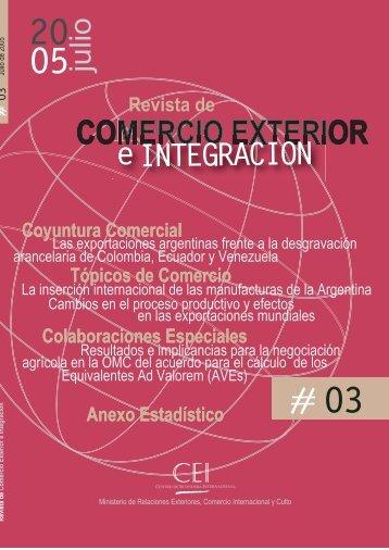 Revista del CEI 3.pdf - Centro de Economía Internacional