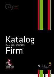 LUB-INVEST 2013 Katalog firm - Lublin