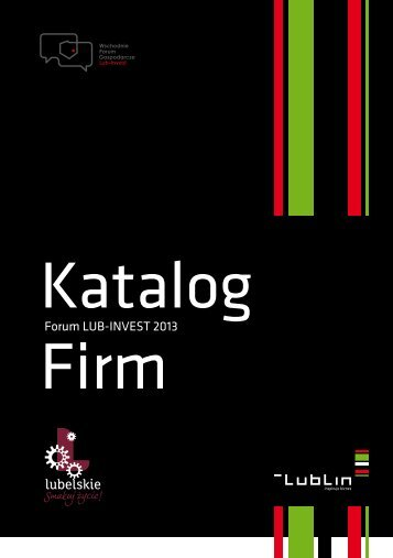 LUB-INVEST 2013 Katalog firm - Lublin