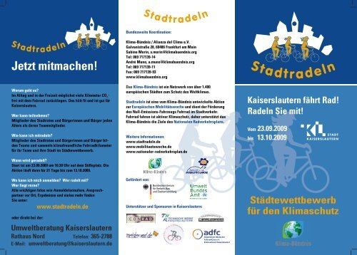 flyer_stadtradeln-Vers9 _Aktuell_.cdr - Stadt Kaiserslautern
