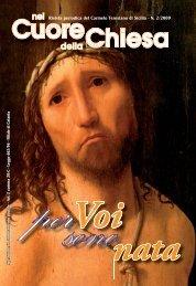 rivista n. 2/2009 (pdf) - Carmelitani Scalzi di Sicilia