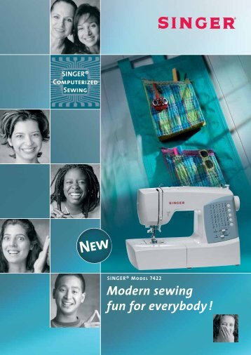 SINGER® Computerized Sewing