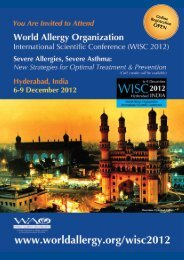 2012 - World Allergy Organization