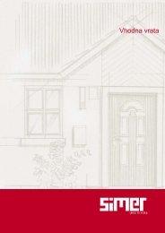 vhodna vrata katalog simer.pdf - Simer d.o.o.
